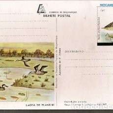 Sellos: MOZAMBIQUE ** & INTERO, AGUARELA POR F. JOFANE, MARRECO, ANAS ERYTHRORHYNCHA (1129). Lote 141327694