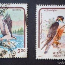 Sellos: 1992 INDIA AVES DE PRESA. Lote 141503854