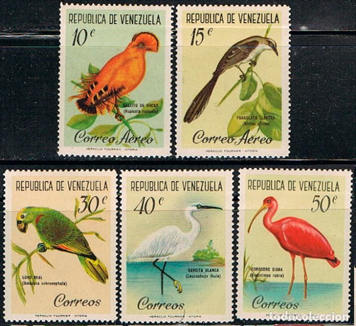 VENEZUELA Nº 1436/1440, AVES, NUEVO *** (Sellos - Temáticas - Aves)