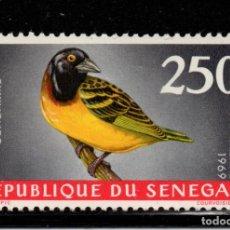 Sellos: SENEGAL AEREO 65** - AÑO 1968 - FAUNA - AVES. Lote 148192034