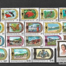 Sellos: DOMINICA 1969 SC 268-286 (19) 27.80 ** MNH - 7/16. Lote 148620890