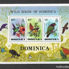 Sellos: DOMINICA 1976 ** MNH - FAUNA AVES -124. Lote 148657082