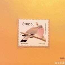 Sellos: EIRE - COLUMBA PALUMBUS - PALOMA TORCAZ.. Lote 150959782
