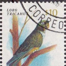 Sellos: 1985 - CHILE - AVES - LORO BARRANQUERO - MICHEL 1078. Lote 151699802