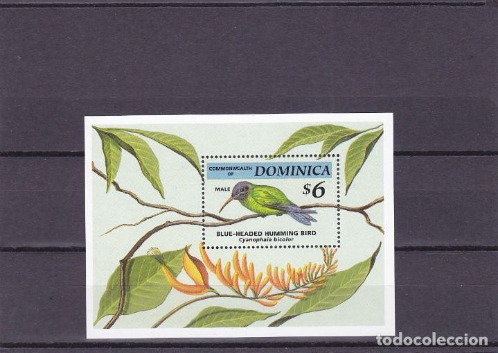 DOMINICA. PAJAROS. HOJA BLOQUE 259. NUEVA. (Sellos - Temáticas - Aves)