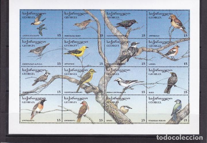 GEORGIA. PAJAROS.159/174. NUEVOS. (Sellos - Temáticas - Aves)