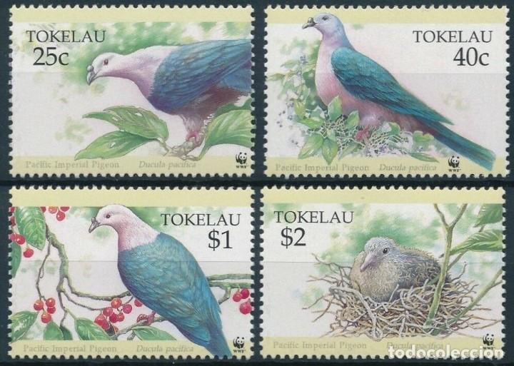 SELLOS TOKELAU 1995 AVES (Sellos - Temáticas - Aves)