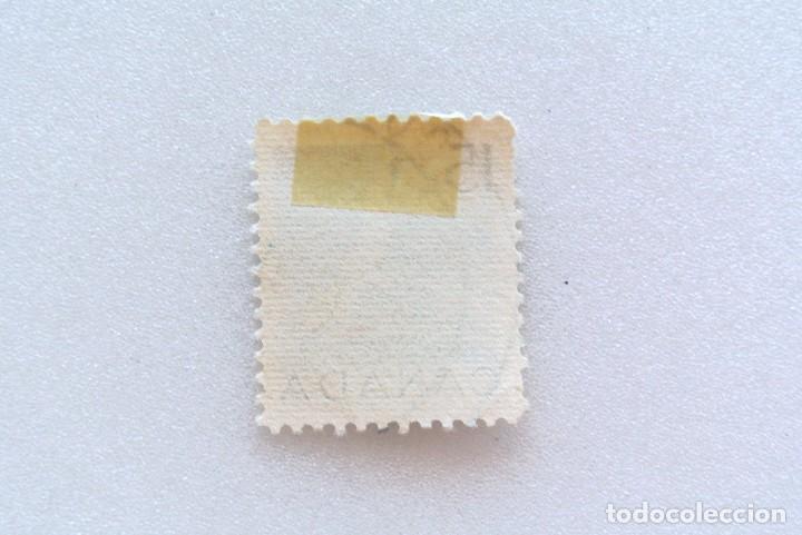 Sellos: Sello postal CANADA 1954, 15 Cents , ALCATRAZ DEL NORTE , CONMEMORATIVO, USADO - Foto 2 - 153079330