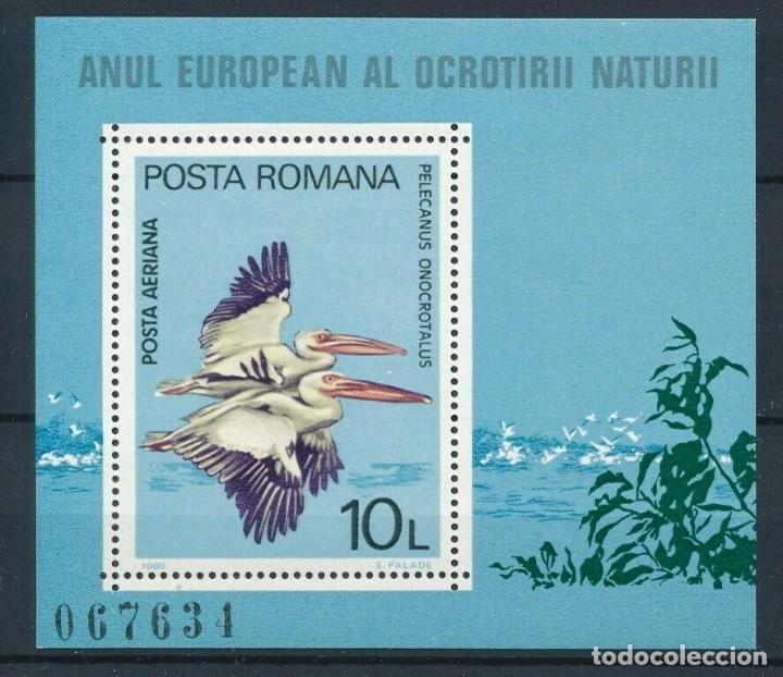 SELLO RUMANIA 1980 Y&T HB 141 AVES (Sellos - Temáticas - Aves)
