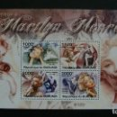 Sellos: ARTE-CINEMA-ACTORES-MERILYN MONROE(1926-1962)-BURUNDI-2011-BLOQUE**(MNH). Lote 160282862