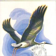 Francobolli: RUSIA (URSS) 4918 CICONIA BOYCIANA. Lote 164746366