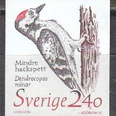 Timbres: SUECIA IVERT 1504, PICO MENOR (DENDOSCOPROS MINOR, NUEVO. Lote 165231254