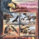 Sellos: GUINEA-BISSAU - HOJA BLOQUE - SERIE COMPLETA - AVES - NUEVA, SIN FIJASELLOS . Lote 168213664