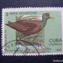 Sellos: CUBA, 1993 AVES ACUATICAS. Lote 168581952
