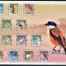 Sellos: CHINA (HONG KONG) 2006 - HOJA BLOQUE - SERIE CORTA - AVES - NUEVA, SIN FIJASELLOS . Lote 168745016