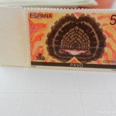 Sellos: SELLO 55+5 PTA. 1989. V CENTENARIO DEL DESCUBRIMIENTO DE AMÉRICA. PAVO. NUEVO.. Lote 180894288