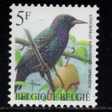 Sellos: BELGICA 2636** - AÑO 1996 - FAUNA - AVES. Lote 180114487