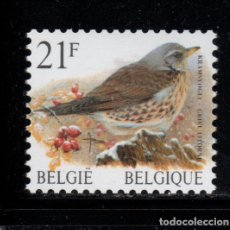 Sellos: BELGICA 2792** - AÑO 1998 - FAUNA - AVES. Lote 180115422