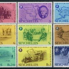Sellos: SEYCHELLES 1976 IVERT 355/63 * BICENTENARIO DE LA INDEPENDENCIA DE LOS ESTADOS UNIDOS. Lote 181995603