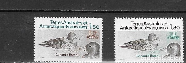 ARTARTIDA FRANCESA Nº 97 AL 98 (**) (Sellos - Temáticas - Aves)
