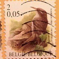 Sellos: BÉLGICA - AVES - EL AGATEADOR.COMÚN.. Lote 190384751