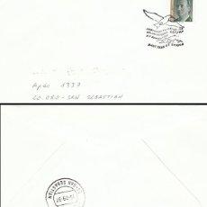 Sellos: AÑO 1997, SAN FELIU DE GUIXOLS (GERONA), GAVIOTA, CIRCULADO. Lote 192362505