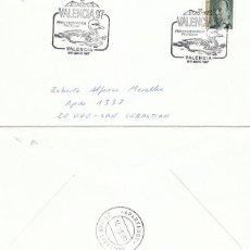 Sellos: AÑO 1997, ANADE, MATASELLO DE VALENCIA, SOBRE CIRCULADO. Lote 192362581