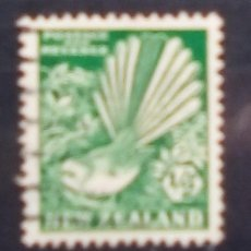Sellos: NUEVA ZELANDA AVES SELLO USADO. Lote 192878606