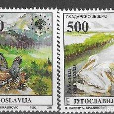 Sellos: YUGOSLAVIA Nº 2431 AL 2432 (**). Lote 195422985