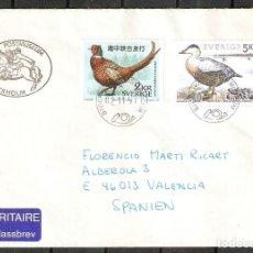 Sellos: SUECIA.1997.AVES. FAUNA.. Lote 200554356