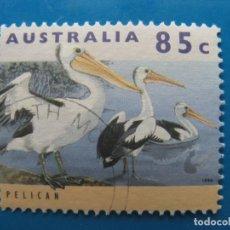 Sellos: +AUSTRALIA 1994, PELICANOS. Lote 206524612