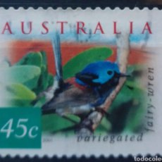 Sellos: AUSTRALIA AVES ENDÉMICAS SELLO USADO. Lote 202658338