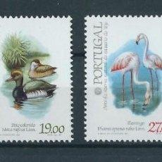 Sellos: PORTUGAL 1982 EXPOSICIÓN FILATELICA DE PARIS AVES. Lote 212240591