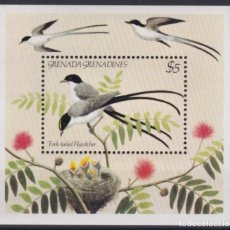Sellos: F-EX18560 GRENADA & GRENADINES MNH BIRD FORK-TAILED FLYCATCHER.. Lote 214407135