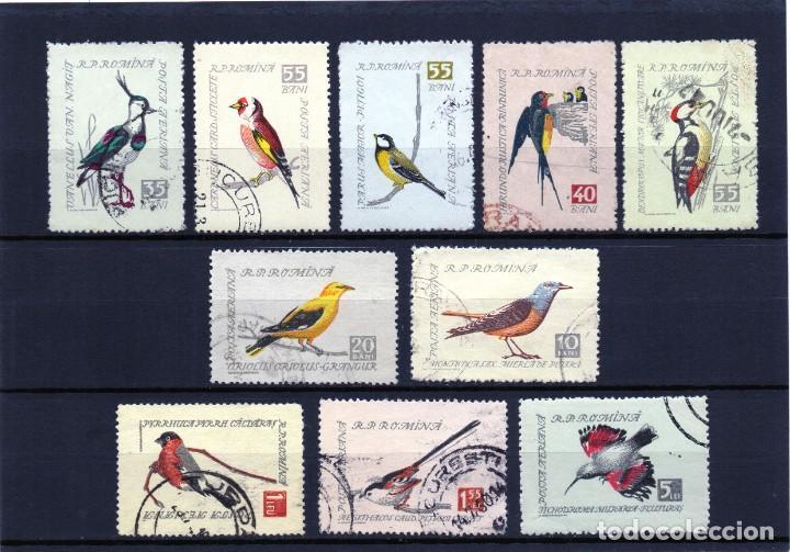 ++ RUMANIA / ROMANIA / ROUMANIE AÑO 1959 C.A. YVERT NR. 91/100 USADO AVES PAJAROS (Sellos - Temáticas - Aves)