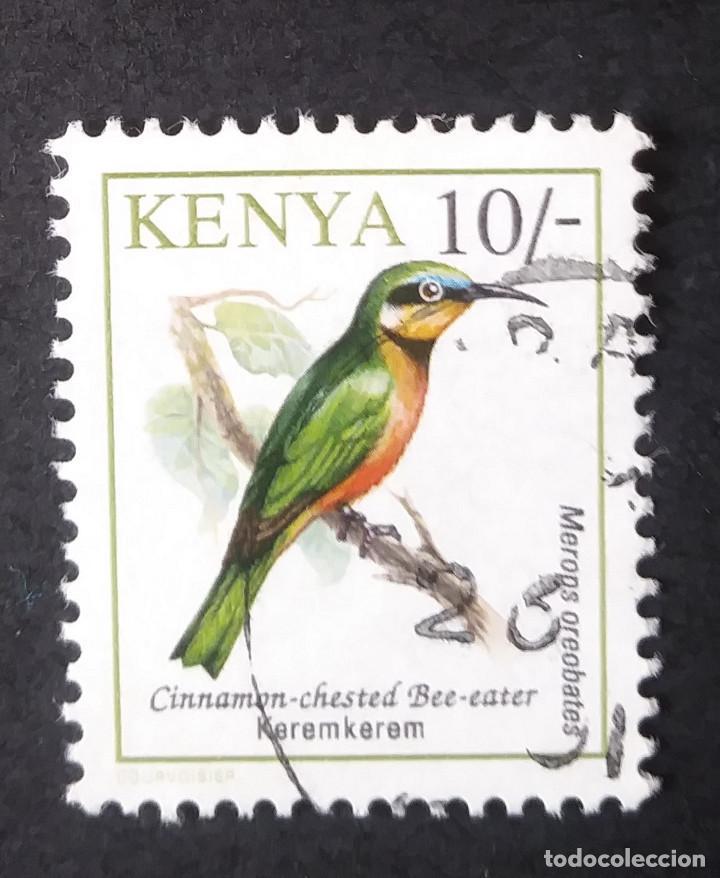 1993 KENIA PÁJAROS (Sellos - Temáticas - Aves)
