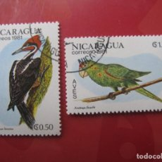 Sellos: +NICARAGUA, 1981, TEMA FAUNA, AVES. Lote 222542915