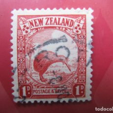 Sellos: +NUEVA ZELANDA, 1935, KIWI, YVERT 194. Lote 222580046