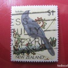 Sellos: +NUEVA ZELANDA, 1985, AVES, YVERT 895. Lote 222691493