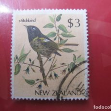 Sellos: +NUEVA ZELANDA, 1986, AVES, YVERT 926. Lote 222697033