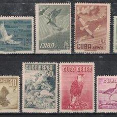 Sellos: 497-2 CUBA 1956 NG BIRDS. Lote 226334005