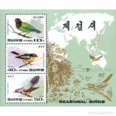 Sellos: 🚩 KOREA 1996 SEASONAL BIRDS MNH - BIRDS. Lote 243285735