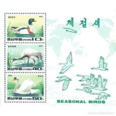 Sellos: 🚩 KOREA 1996 SEASONAL BIRDS MNH - BIRDS, DUCKS. Lote 243285750