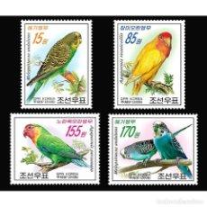 Sellos: 🚩 KOREA 2008 PARROTS MNH - PARROTS. Lote 243289505