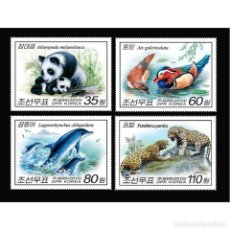 Sellos: 🚩 KOREA 2010 ANIMALS MNH - BIRDS, THE BEARS, DOLPHINS. Lote 243289990