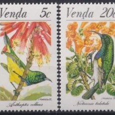 Sellos: F-EX22587 SOUTH AFRICA VENDA 1981 MNH BIRD AVES PAJAROS OISEAUX VÖGEL. Lote 244622305