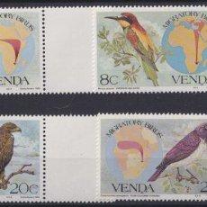 Sellos: F-EX22586 SOUTH AFRICA VENDA 1984 MNH MIGRATORY BIRD AVES PAJAROS OISEAUX VÖGEL.. Lote 244622315