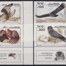 Sellos: F-EX22627 ISRAEL 1989 MNH BIRD AVES PAJAROS OISEAUX VÖGEL EAGLE AGUILAS. Lote 244622385