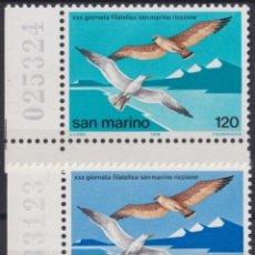 Sellos: F-EX22593 SAN MARINO 1985 MNH MIGRATORY BIRD AVES PAJAROS OISEAUX VÖGEL.. Lote 244622400