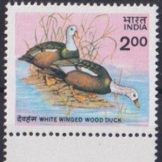 Sellos: F-EX22632 INDIA 1985 MNH BIRD AVES PAJAROS OISEAUX VÖGEL. Lote 244622500